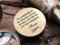 Personalized Compass - Custom Engraved Compass, Gift for Groom from Bride on Wedding Day - Wedding gift - Engagement Gift - Wedding Keepsake 5