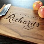 Personalized Engraved Cutting Board Richards