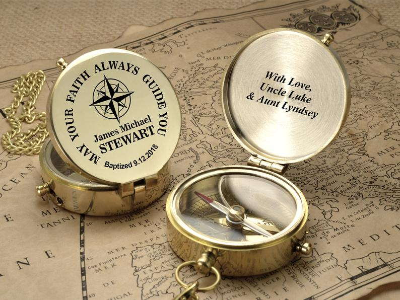 Compass - First Communion Gift For Godchild - Gift From ...