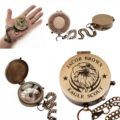 Personalized Eagle Scout, Boy Scout, Cub Scout Leader, Engraved Working Compass, Custom Engraved Compass, Handmade Brass Compass Custom gift 12