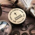 Personalized Compass - First Holy Communion Gift - Baptism - Confirmation Gift - First Holy Communion - Gift From Godmother - Baby Keepsake 20