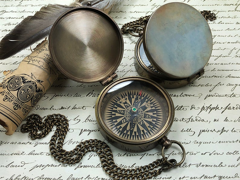 Compass - Holy First Communion - Personalized Baptism Gift - Confirmation Gift - Gift for Baby First Communion 11