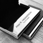 Personalized Business Card Holder - Business Card Case - Credit Card Holder - Groomsman Gift - Corporate Gift 4