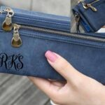 Personalized Women's Wallet - Clutch - Unique Gift for Her - Mother of the Groom - Mother of the Bride - Wedding Gift for Her - Christmas 2