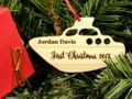 Personalized Baby's First Christmas Ornament, Baby's First Ornament, Baby First Christmas, Baby 1st Christmas Ornament, First Baby Ornament 10