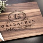 Personalized Cutting Board - Customized Wedding Gift for the Couple, Engagement Gift, Personalized Wedding Gift, Housewarming Gift 4