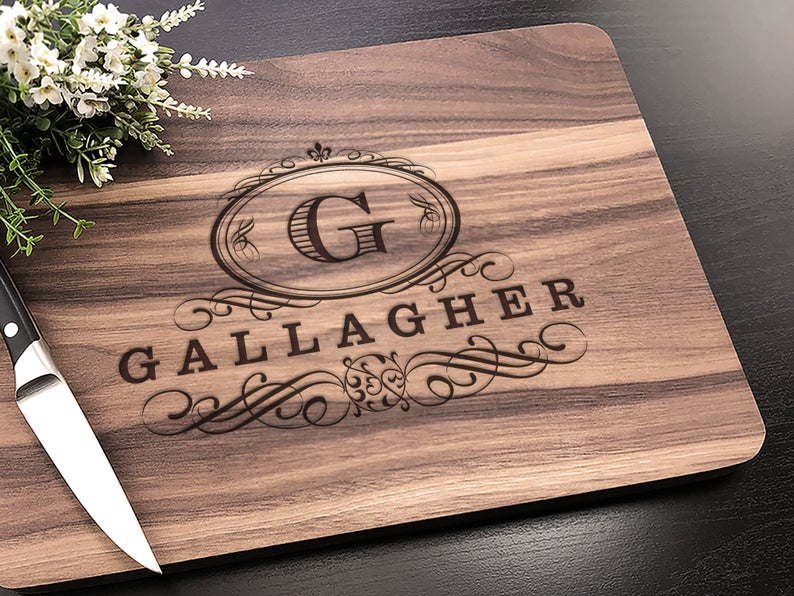 Personalized Cutting Board - Customized Wedding Gift for the Couple, Engagement Gift, Personalized Wedding Gift, Housewarming Gift 6