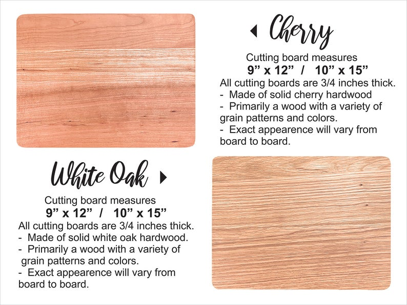 Personalized Wood Cutting Board. Custom Wedding Gifts for Couple. Bride & Groom Gift 11