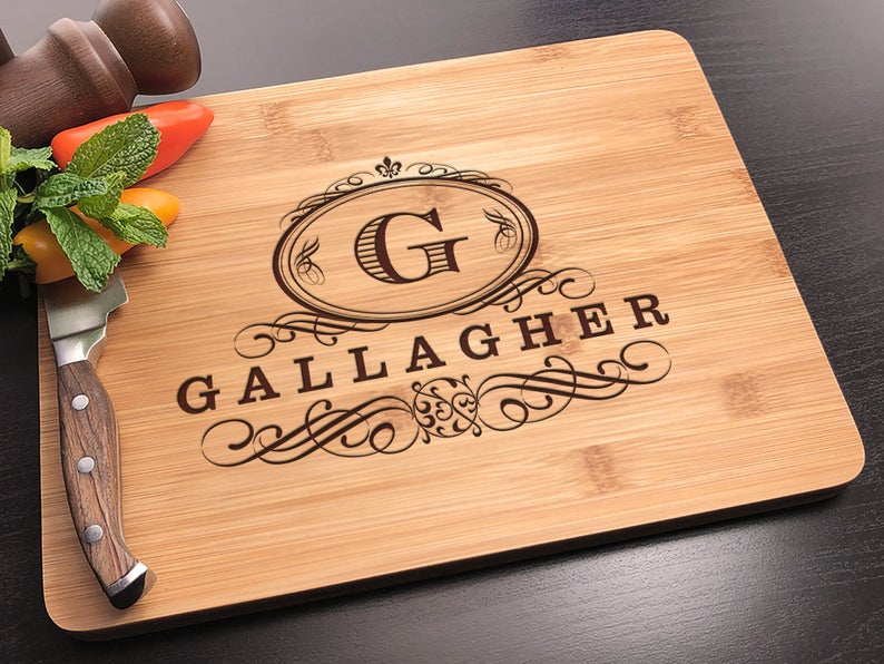 Personalized Cutting Board - Customized Wedding Gift for the Couple, Engagement Gift, Personalized Wedding Gift, Housewarming Gift 7