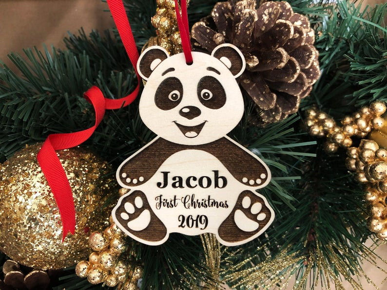 Ornament, Baby's First Christmas Ornament Baby's 1st Christmas Ornament First Christmas Baby's First Ornament Baby's 1st Christmas, Keepsake 6