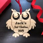 Personalized Baby's First Christmas Ornament, Baby First Ornament, Personalized Christmas Ornament, New Baby Gift, Baby's First Christmas 2