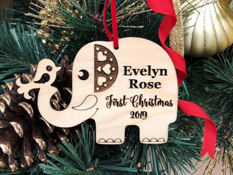 First Christmas Baby Ornament | First Christmas Baby Keepsake | Christmas Ornament Baby | New Parent Christmas Ornament | Baby Ornament Gift 11