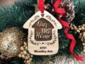 Home Sweet Home Personalized Christmas Ornament, New Home Ornament, Our First Home, Real Estate Agent, Realtor Gift, New House Ornament 5