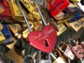 Personalized Love Lock - Red Heart Lock with Key - Personalized Heart Love Padlock - Engraved Love Lock - Engagement Gift 12