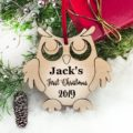 Personalized Baby's First Christmas Ornament, Baby First Ornament, Personalized Christmas Ornament, New Baby Gift, Baby's First Christmas 16