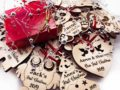 Baby First Christmas Ornament, Personalized Christmas Gift, Engraved Wooden Ornament, Baby First Gift for Christmas, Custom Gift for Baby 18