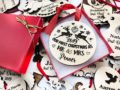Our First Christmas Ornament, Just Married Couple Personalized Christmas Ornament, Newlywed Gift, Housewarming gift Custom Engraved Ornament 22
