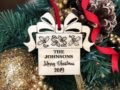 Christmas Ornaments Personalized Wedding Ornament Personalized Wedding Gifts for Couple First Christmas Ornament Married Newlywed Ornament 24