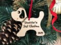 Personalized Dog Christmas Ornament with Name - Christmas Gift for Dog Lovers, Dog Gift, Pet Gift, Custom Ornament, Christmas Dog Ornament 16