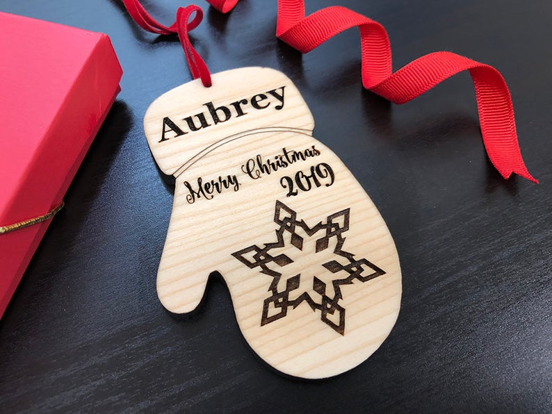 Baby's First Christmas Ornament, Personalized with Name and Date, Christmas Gift or Baby Gift, Personalized Baby's Christmas Gift, Keepsake 15