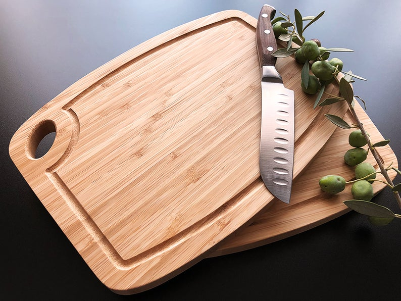 Personalized Cutting Board, Engraved Cutting Board, Walnut Cutting Board, Housewarming Gift, Engagement Gift, Housewarming, Christmas Gift 17