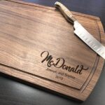 Personalized Cutting Board, Engraved Cutting Board, Walnut Cutting Board, Housewarming Gift, Engagement Gift, Housewarming, Christmas Gift 4